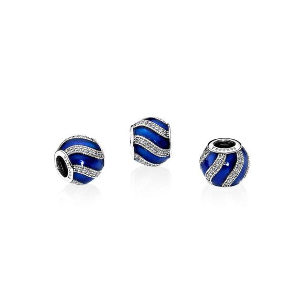 791991en118 pandora blue adornment charm
