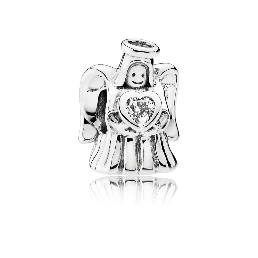 792010CZ pandora loving angel charm