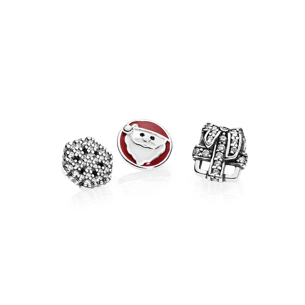 792023CZ Pandora Christmas Petite Memories Locket Charm
