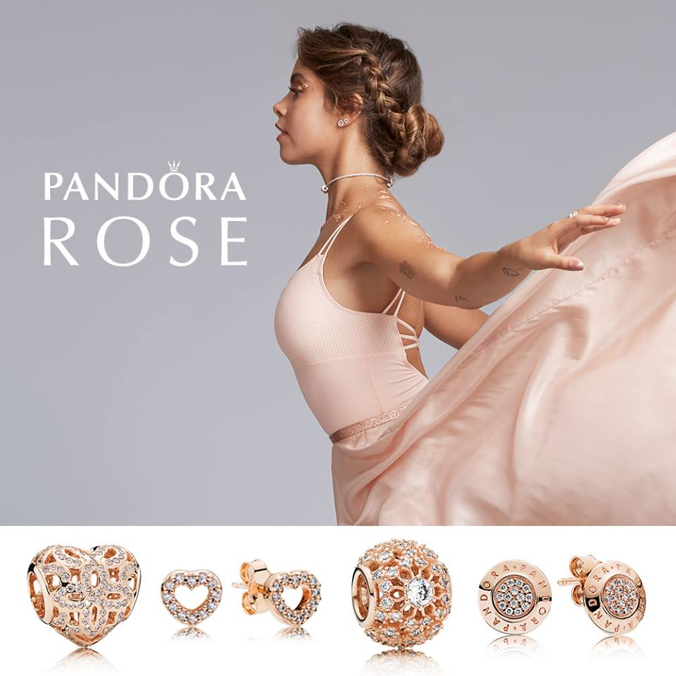 Pandora rose collection Australia live event October