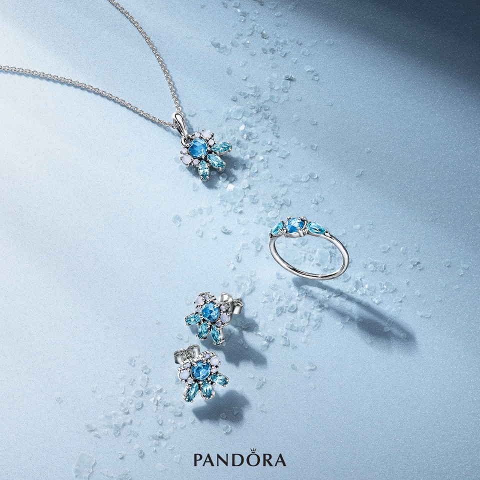 Pandora winter collection aw16 w16 2016 patterns of frost jewellery set