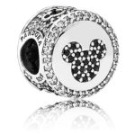 7501057370022 pandora Disney, Mickey & Minnie Sparkling Icons Charm - Limited Edition