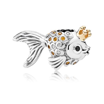 Review pandora fairytale fish charm the art of pandora for Pandora fish charm