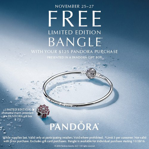 c6b8145f1 Pandora US Black Friday Promotion - The Art of Pandora | More than ...