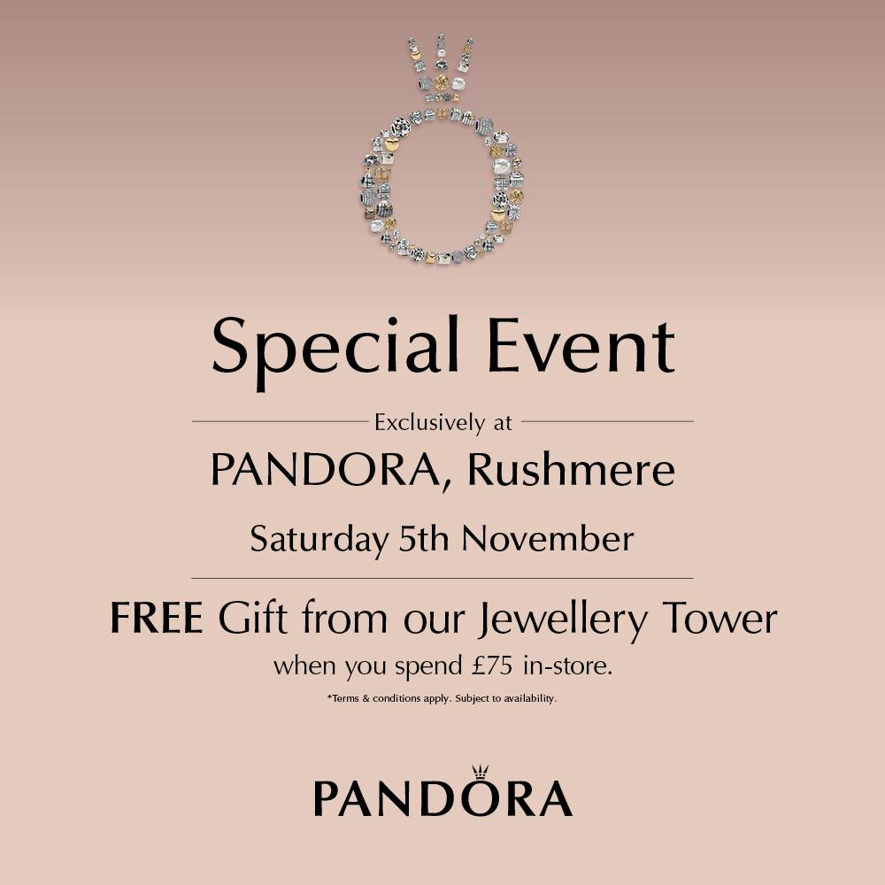 pandora tower event rushmere