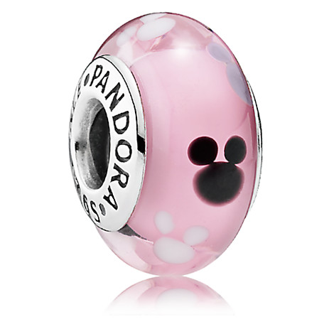 Mickey Mouse Icon Murano Glass Charm by PANDORA