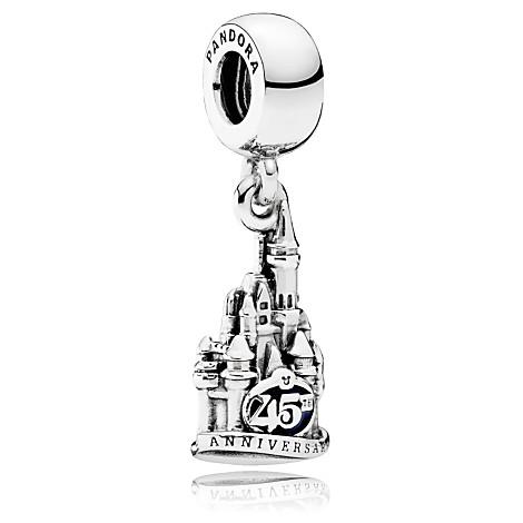 cinderella castle magic kingdom 45th anniversary charm パンドラの