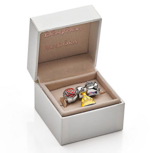 Beauty and the Beast Charm Gift Set by PANDORA with FREE Lithograph & CD - Live Action Film
