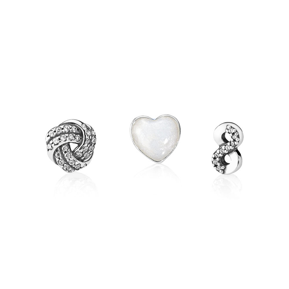 INFINITE LOVE PETITES LOCKET CHARM