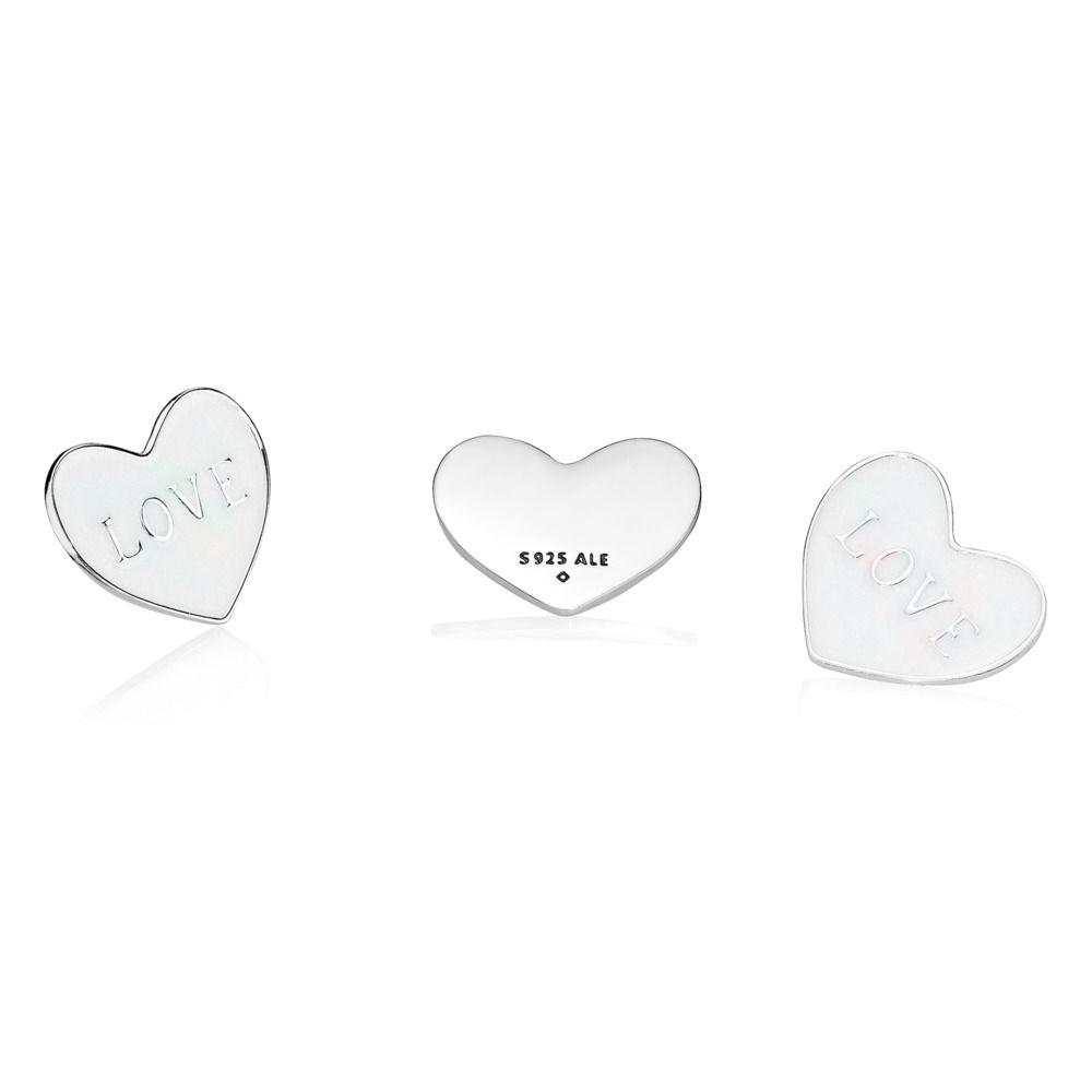 LOVE HEART LOCKET PLATE - MEDIUM