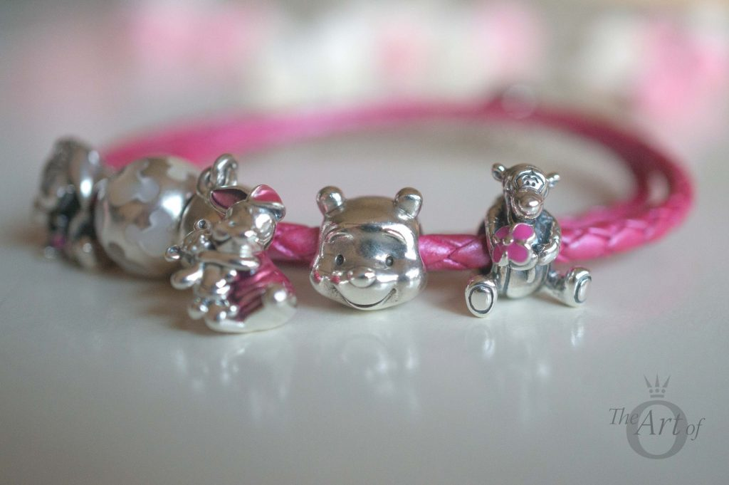 Pandora tigger charm and winnie the pooh and piglet