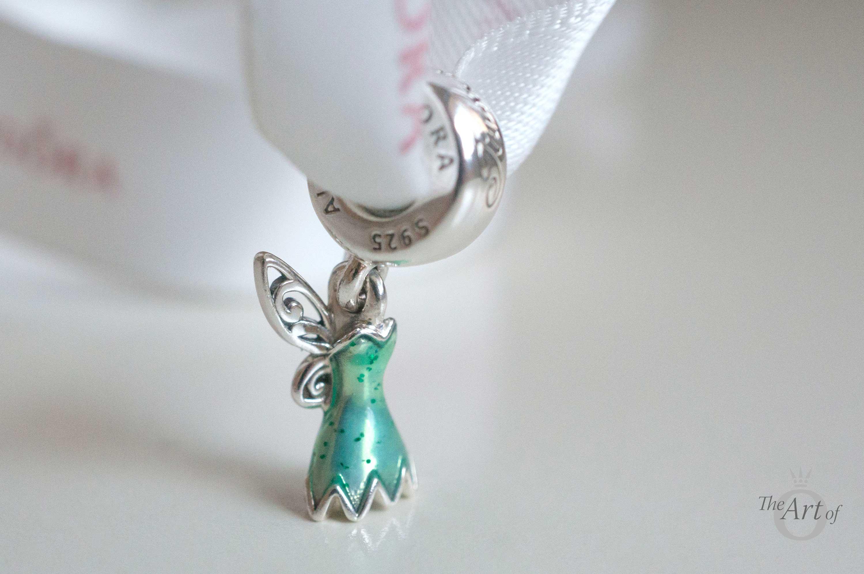 Review Pandora Disney Tinker Bell S Dress The Art Of