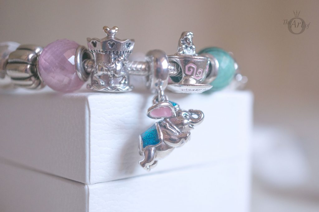 792125 792124ENMX 792126ENMX Alice in wonderland pandora disney parks summer 2017 flying dumbo carrousel charm set fantasyland