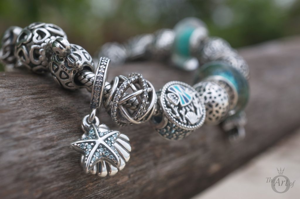 Exhibition Shell Vacations : Review pandora tropical starfish seashell charm the