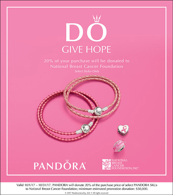 b8ea35b13 PANDORA Breast Cancer 2017 - The Art of Pandora   More than just a ...