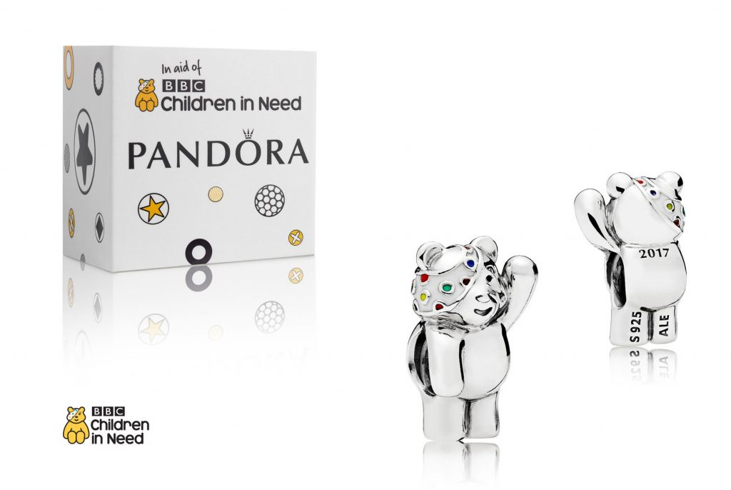 limited edition valentines 2018 spring summer 796255ENMX pandora pudsey bear children in need bbc uk estore winter november charity 2017 17th