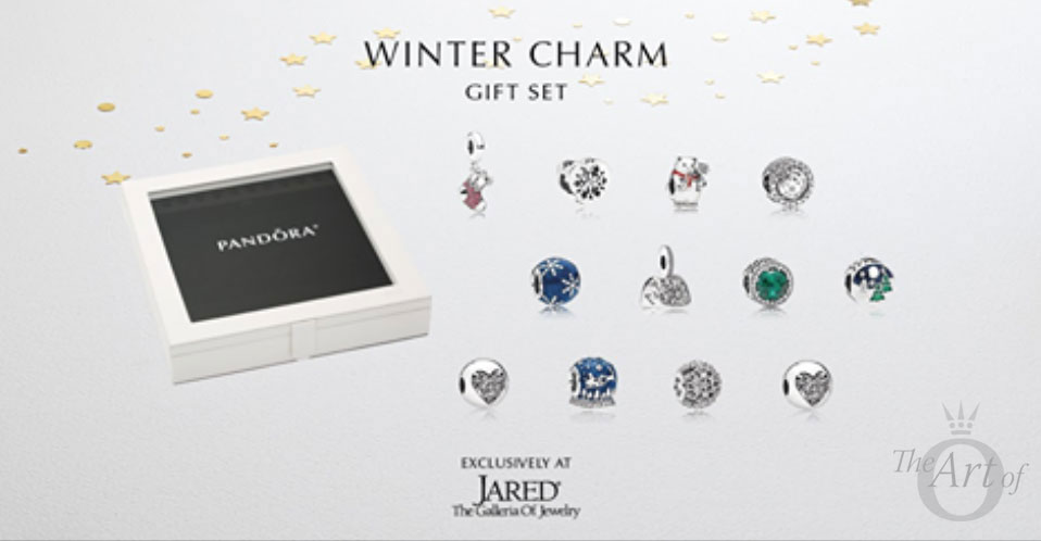 73901324f PANDORA Jared's Gift Set exclusive 2017 winter holiday christmas ...