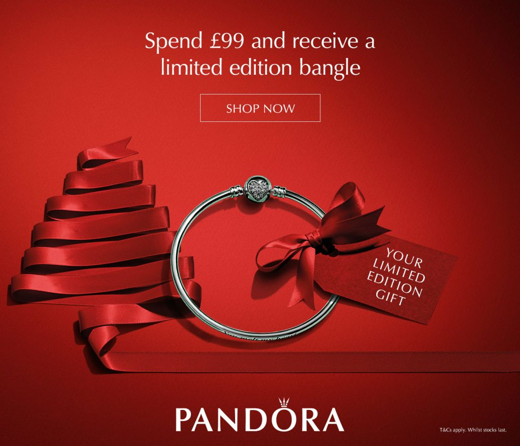 pandora uk black friday free limited edition bangle