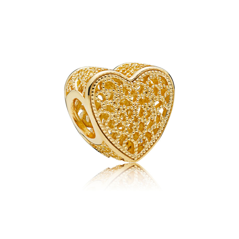 PANDORA Shine Filled With Romance Heart Charm spring new collection 2018 767155