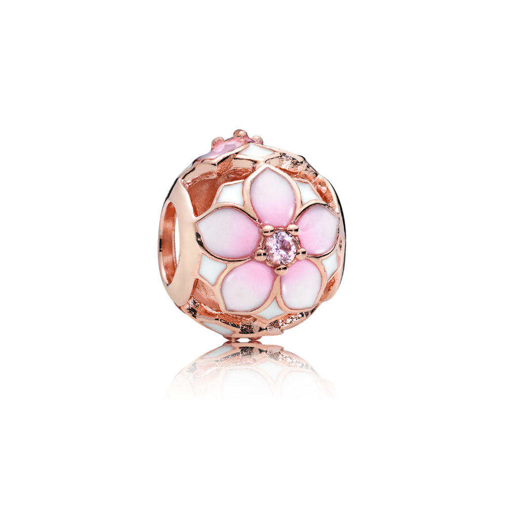 PANDORA Rose Magnolia Bloom Charm 782087NBP