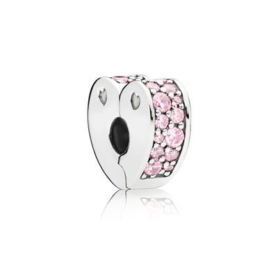 797020PCZ pink arcs of love spacer