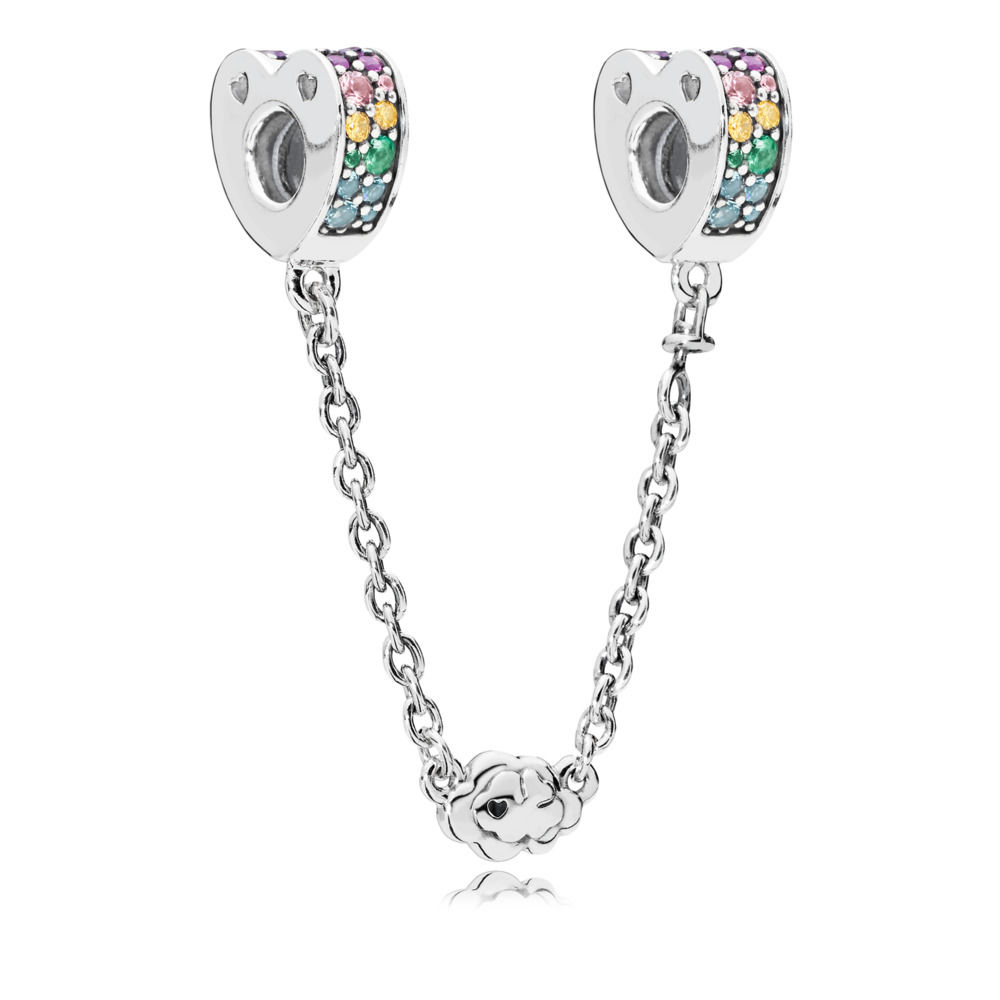797021NRPMX multi coloured arcs of love safety chain