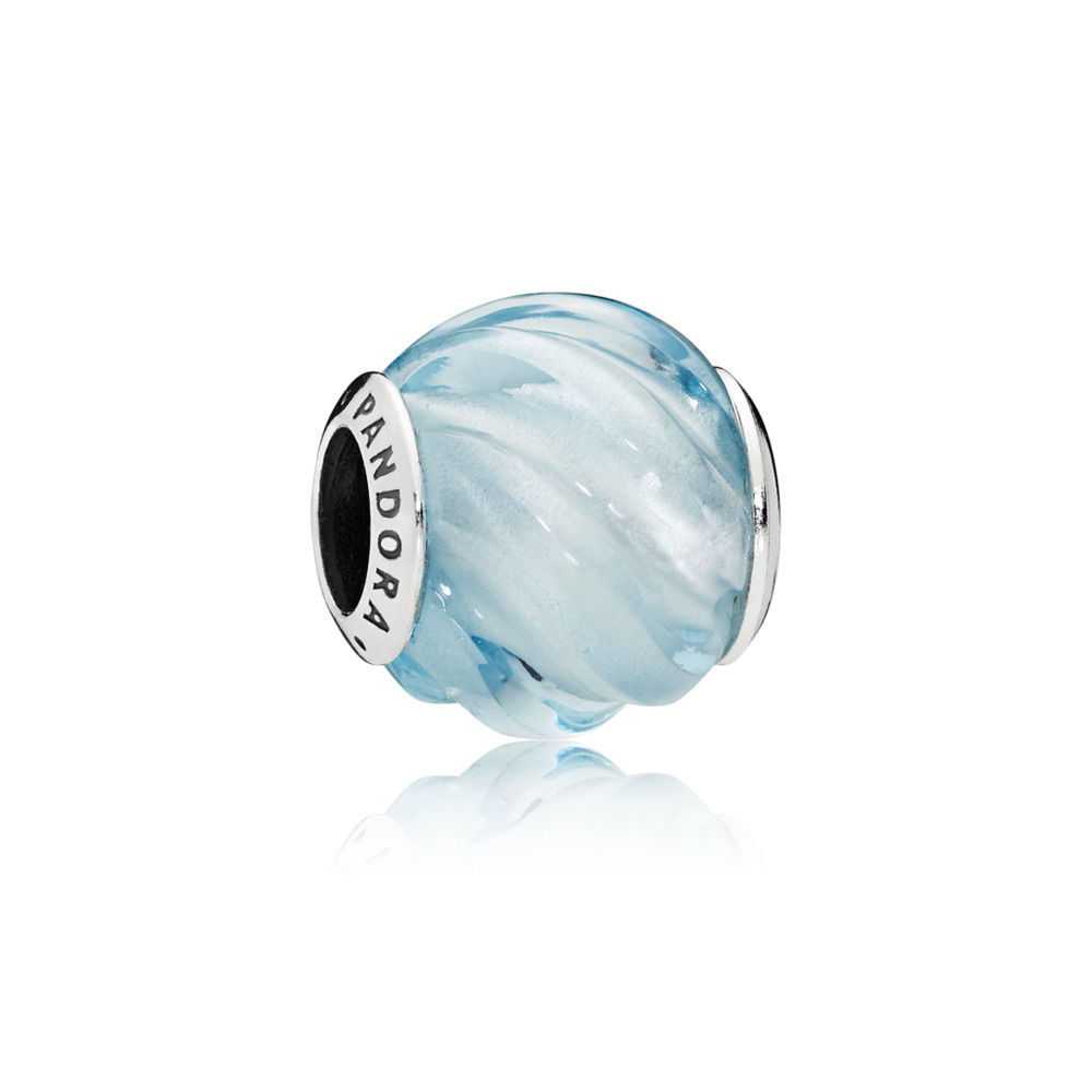 797098NAB Blue Ripples Charm