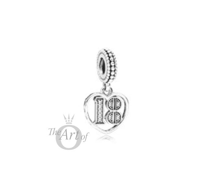 Pandora Women Silver Bead Charm - 797262CZ rSs3EdN46