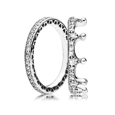 RAU0405 Sterling Silver Enchanting Ring Stack