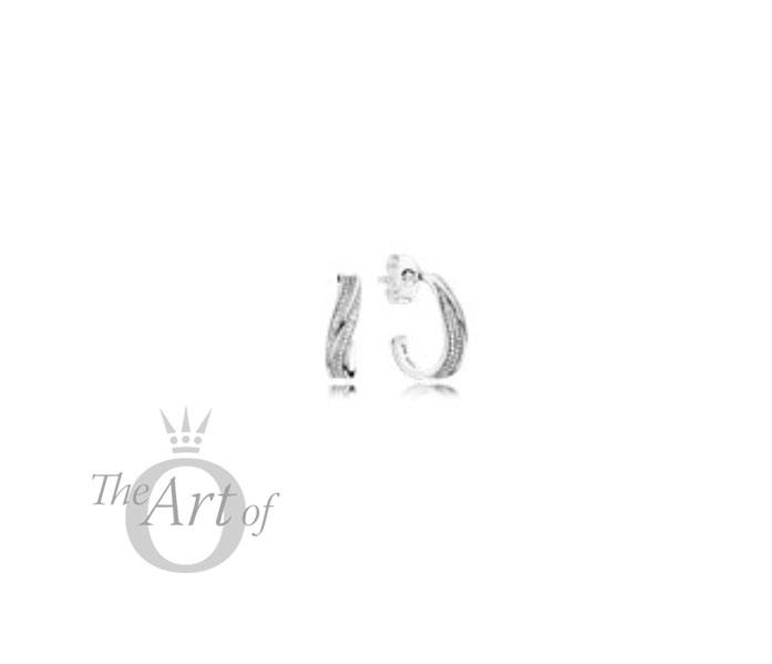 e01791b7a pandora-spring-2018-elegant-waves-earrings-297097CZ - The Art of ...