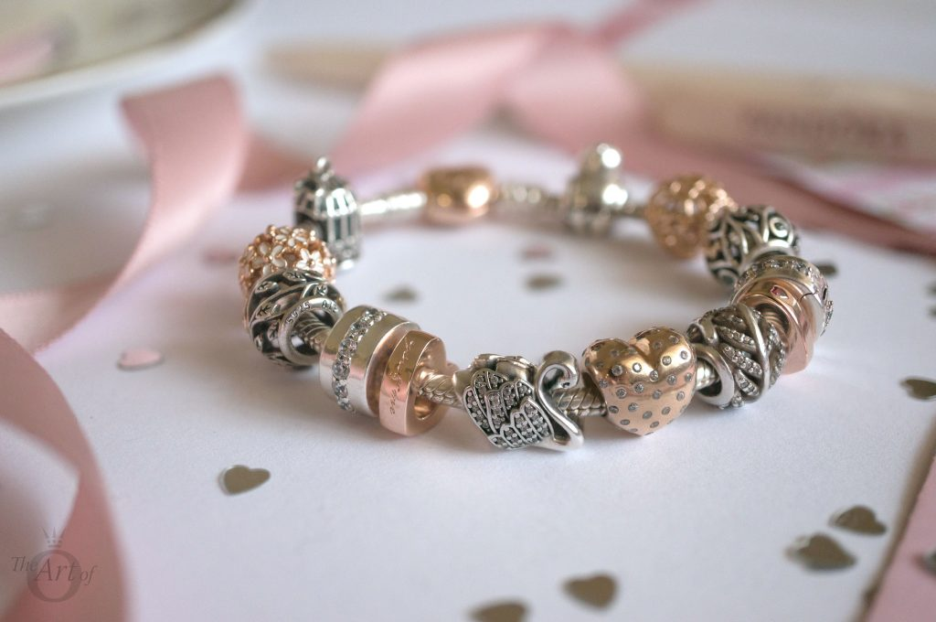221a405c0 pandora rose two hearts spacer charm 786559CZR theartofpandora blog  becharming pandora club charm 2018 spring valentines