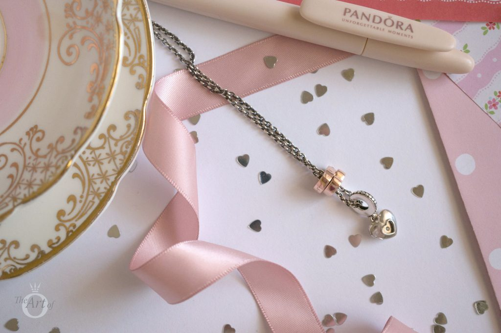 pandora rose two hearts spacer charm 786559CZR theartofpandora blog becharming pandora club charm 2018 spring valentines mothers day autumn winter collection new