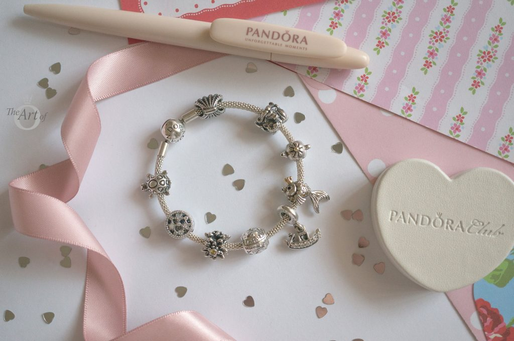B800776 796602D Pandora 2018 Club Charm Review