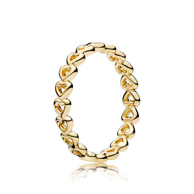 167105 PANDORA Shine Linked Love Ring spring 2018 new collection