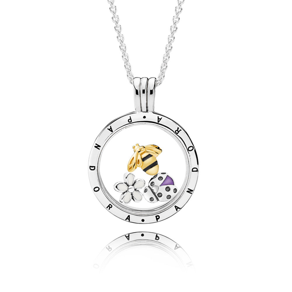RAU0423 Magical Meadow Floating Locket Gift Set pandora shine spring 2018