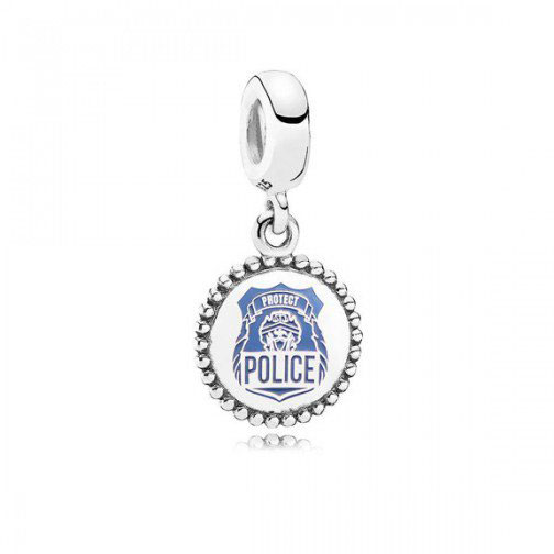 police pandora charm services us engraved exclusive becharming spring 2018 policeman policewoman