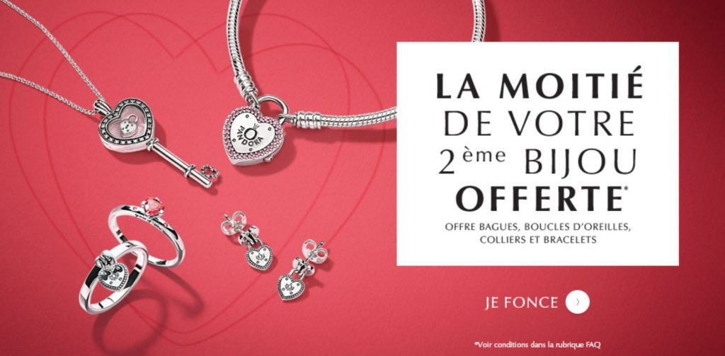 a793efb87 The offer is valid until March 7, 2018 and includes PANDORA rings, earrings,  bracelets and necklaces. This promotion is valid on the eSTORE PANDORA and  ...