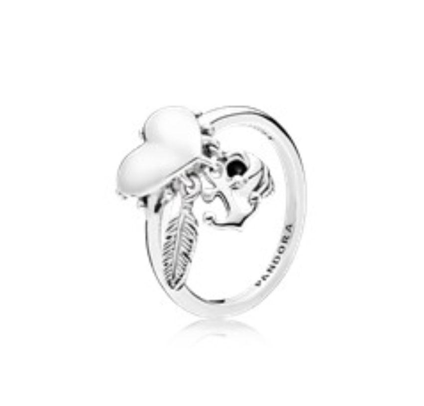 PANDORA Spiritual Symbols Ring (197187) $50 USD