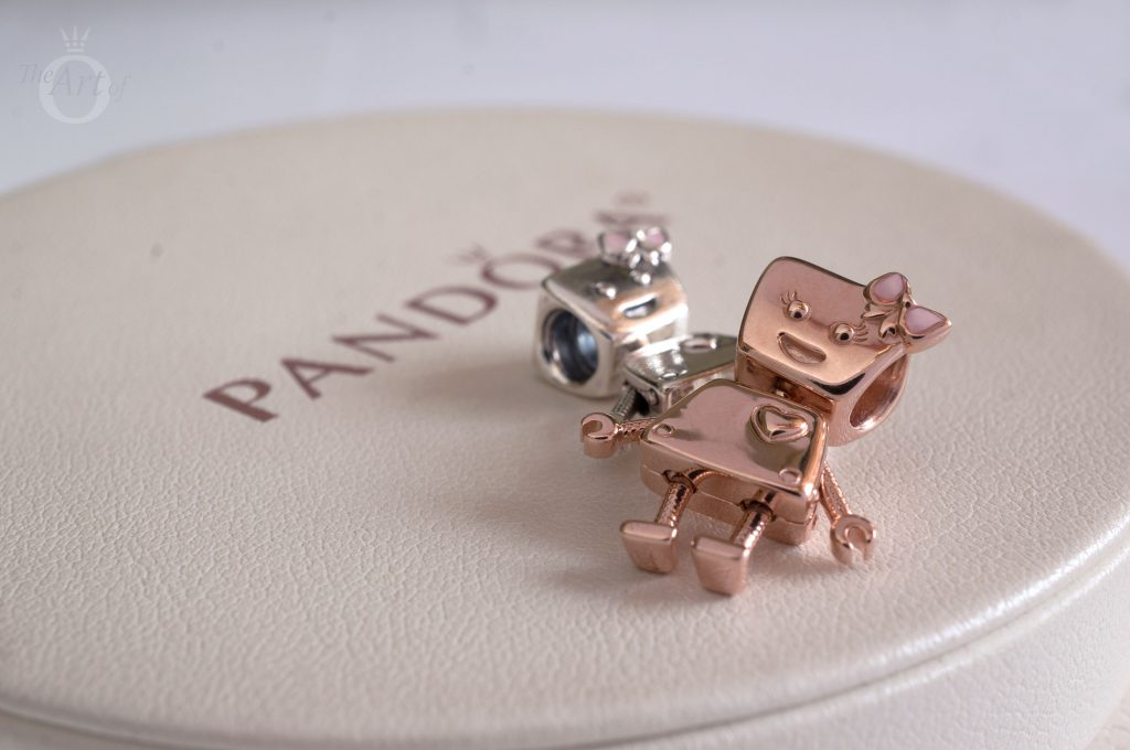 bella bot, rose bella bot, pandora bella bot charm, pandora charm, pandora review, pandora blog, 787141EN160, 797141EN160