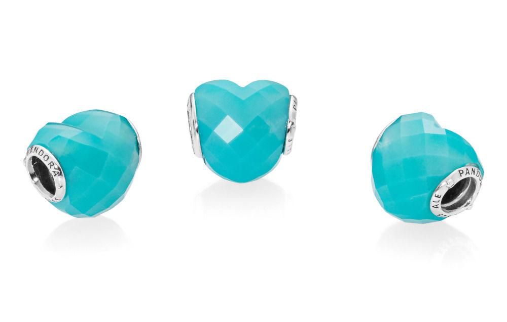 PANDORA Shape of Love, Blue Charm (796563NSC)