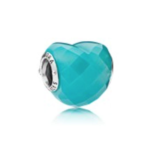 PANDORA Shape of Love, Blue (796563NSC) $55 USD