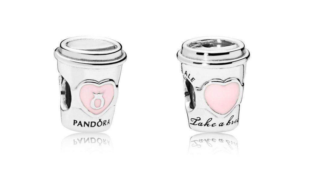 PANDORA Drink To Go Charm (797185EN160)