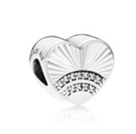 PANDORA Fan of Love Charm (797288CZ) $55 USD
