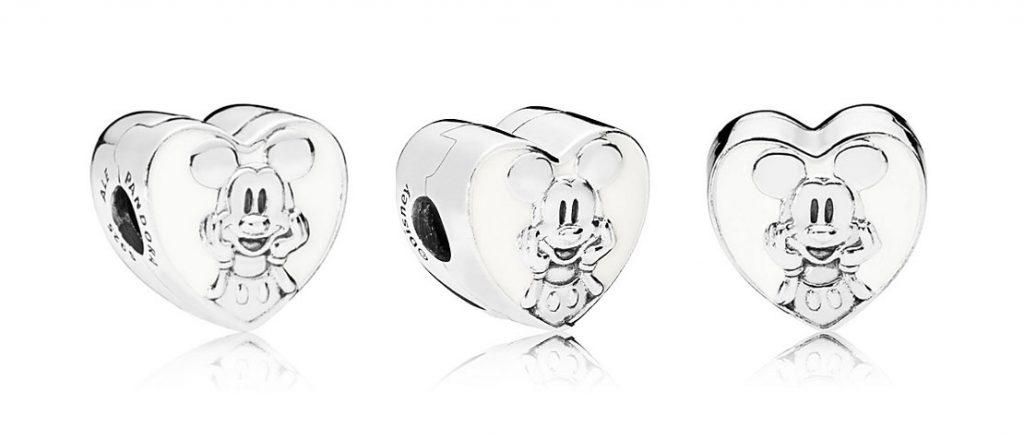 PANDORA Disney Vintage Mickey Clip (797169EN12) $55 USD