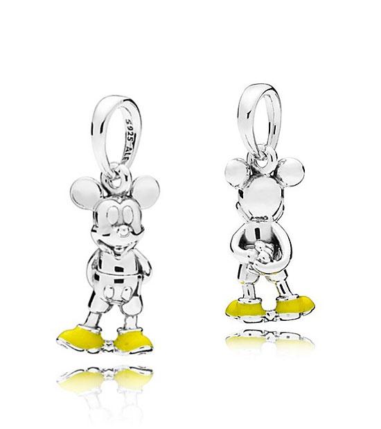 PANDORA Disney Classic Mickey Pendant (397394EN06) $50 USD