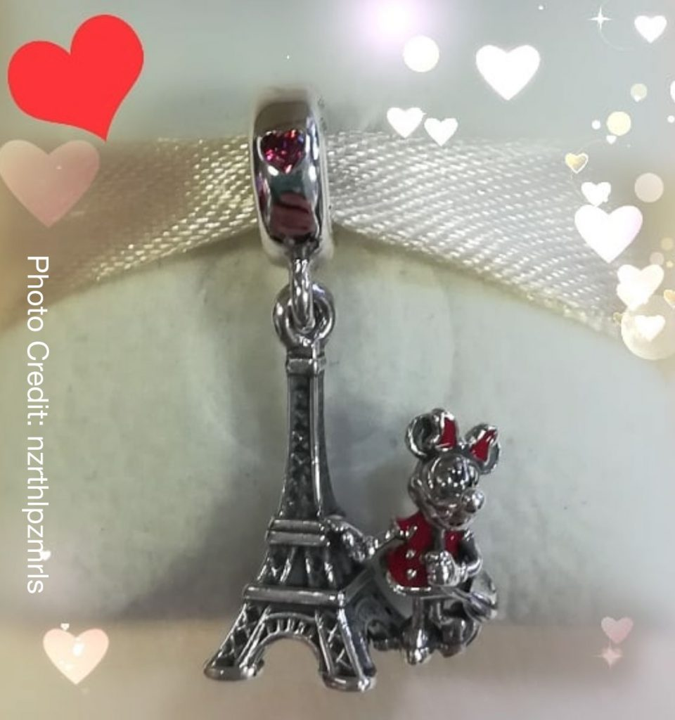 pandora charm disney paris
