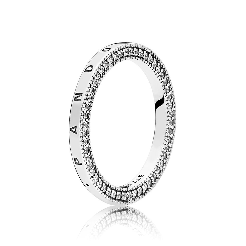Signature Hearts of PANDORA Ring (197437CZ)