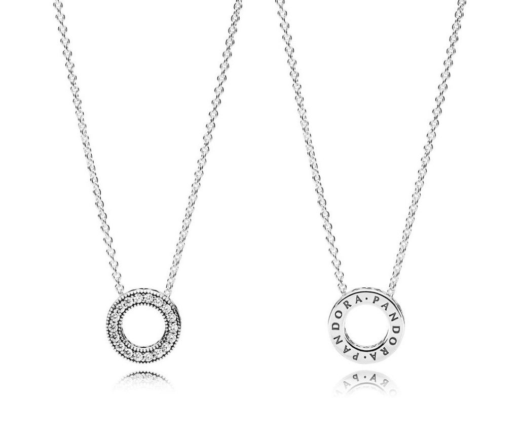 Hearts of PANDORA Necklace (397436CZ-45)