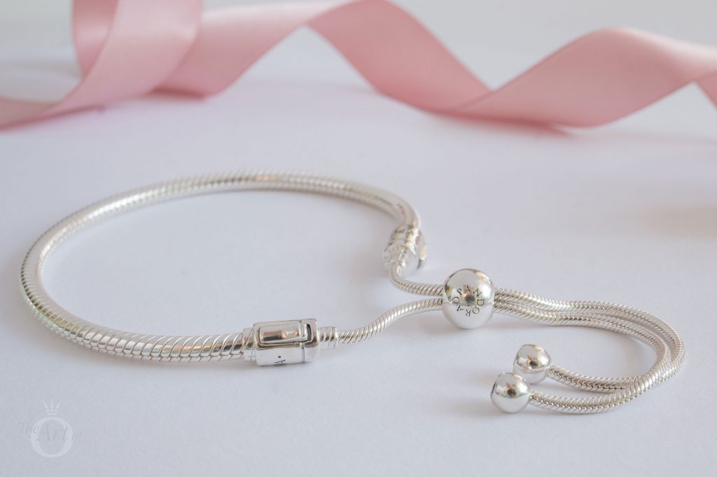 597125CZ pandora moments silver sliding bracelet,pandora sliding bracelet, pandora new bracelet, pandora spring 2018, pandora shine bracelet
