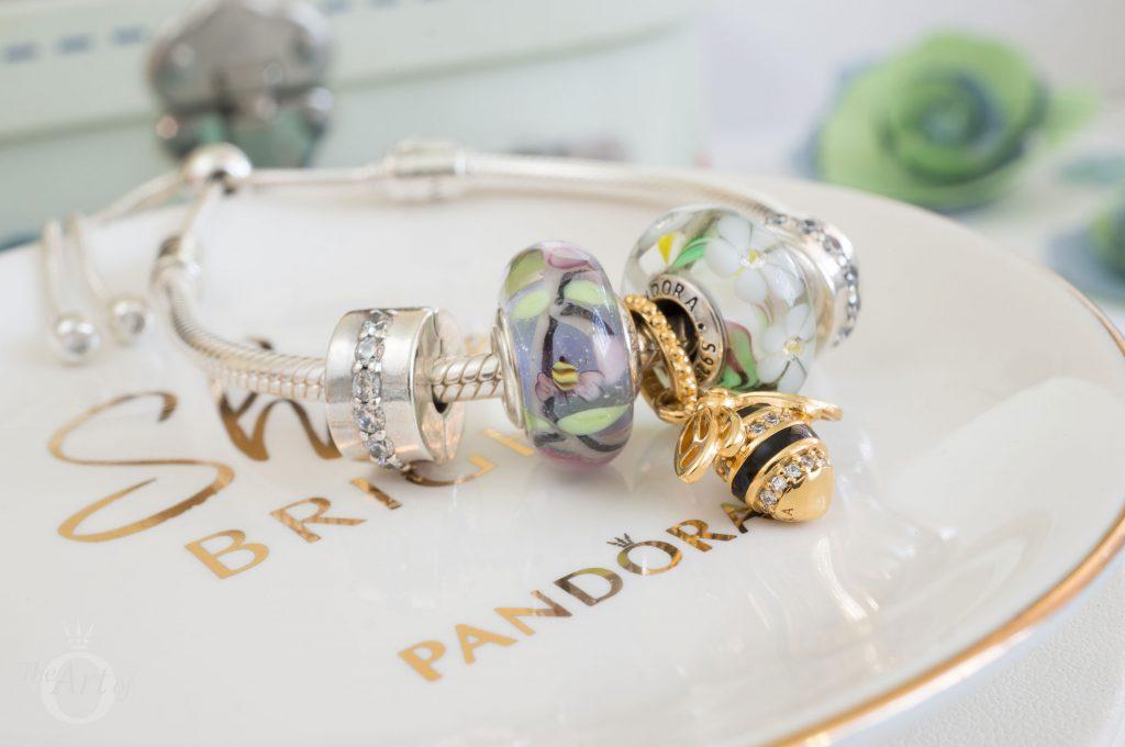 Pandora Moments Silver Sliding Bracelet